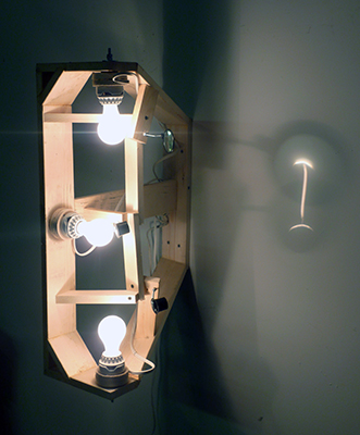Ian Burns sculpture. I Beams. 2010